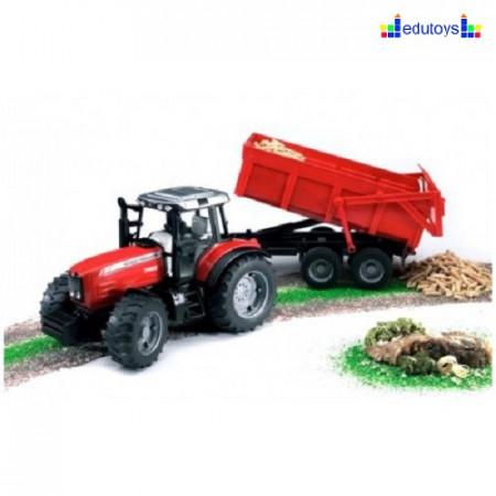 Traktor sa prikolicom red
