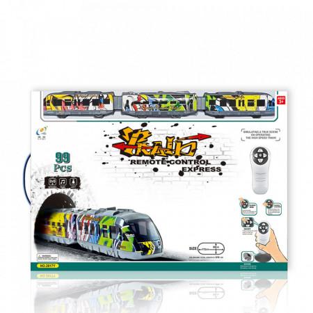 Voz, mostovi i stanica TRAIN EXPRESS - 99 delova