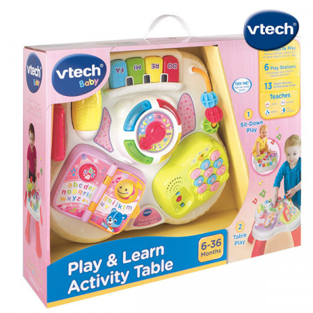 Activity stocic za igru- pink Play & learn