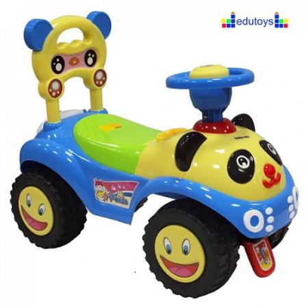 Guralica sa figurama Bebi panda plavo žuta