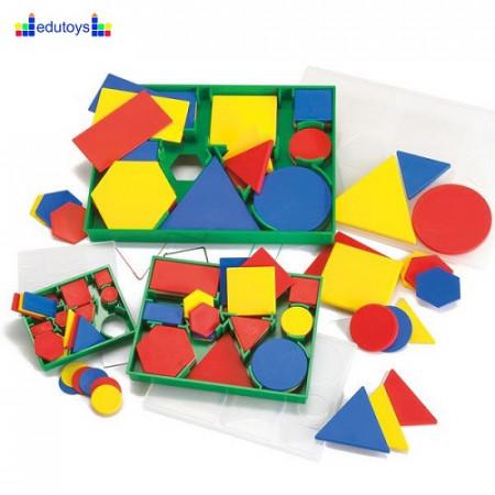 Logički blokovi jumbo u boji 60 elemenata
