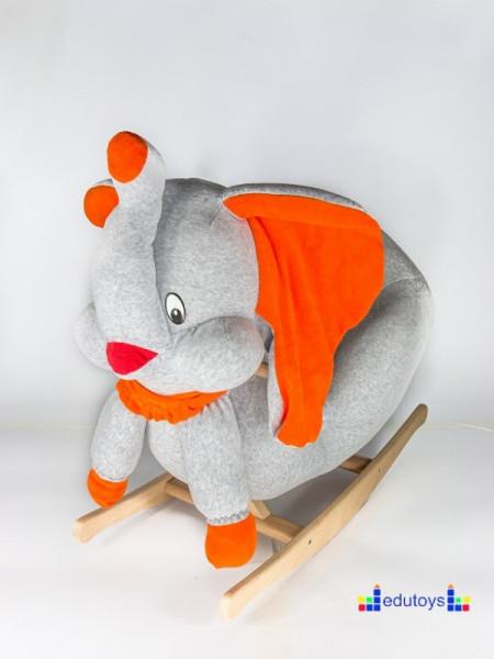 Njihalica slon - grey orange