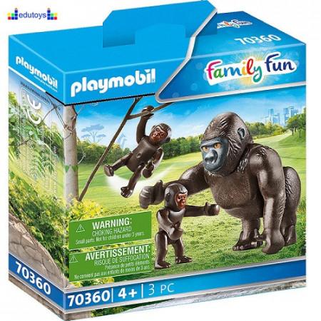 Playmobil Family Fun Gorila sa bebama