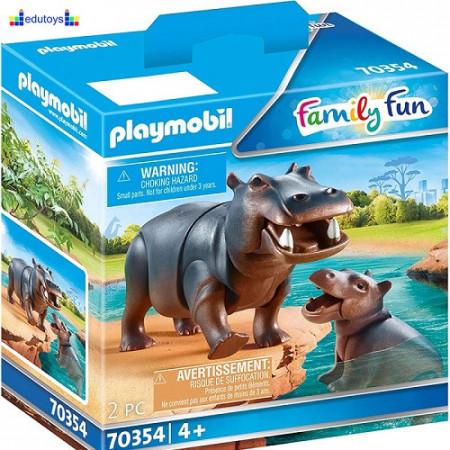 Playmobil Family Fun Hippo