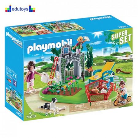 Playmobil Super Set - Bašta