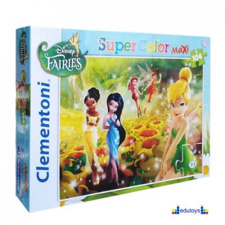 Puzzle 104 elementa Disney Fairs