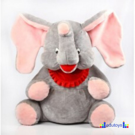 Slon Miro siva pink 80 cm
