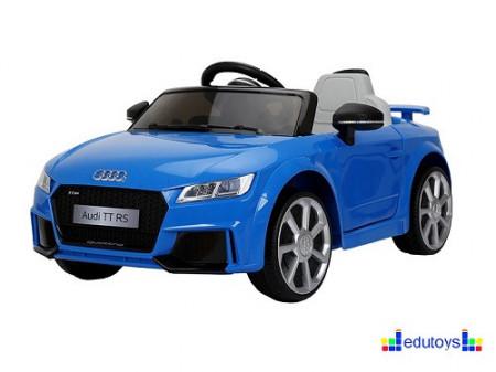 Audi plavi auto na akumulator