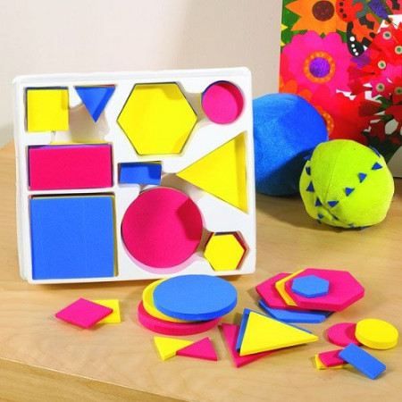 Logički blokovi u boji 60 elemenata