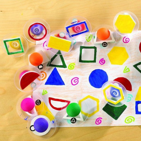 Pečati geometrijski oblici 14 komada