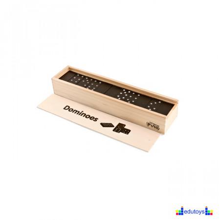 EDU Dominoes wood classic