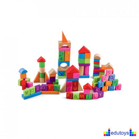 Kocke blokovi 100 delova