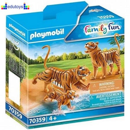 Playmobil Family Fun Porodica tigrova