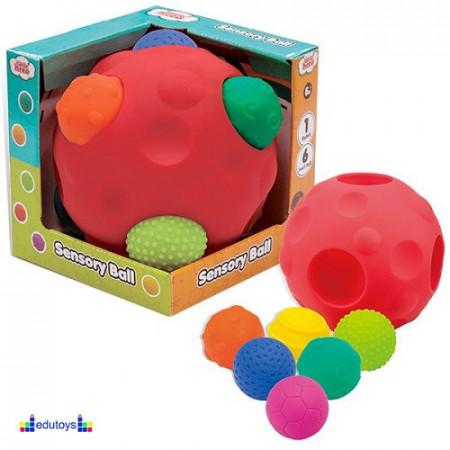 Senzorna lopta umetaljka 1+6 lopti