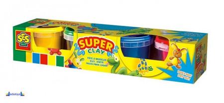 Creative Super plastelin 4 boje