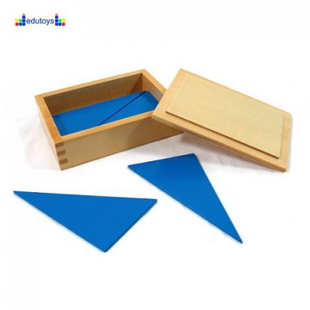 Montesori Konstruktivni plavi trouglovi drveni
