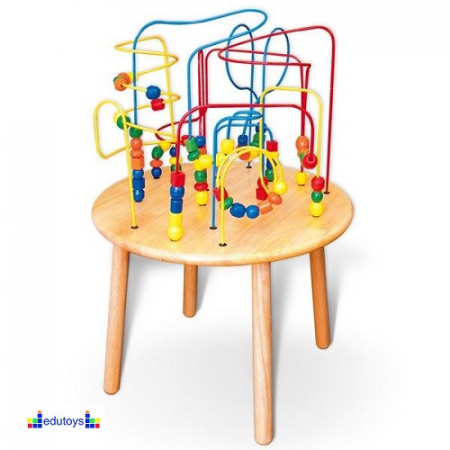 Rolerkoster stocic sa perlicama obim stola 38 cm
