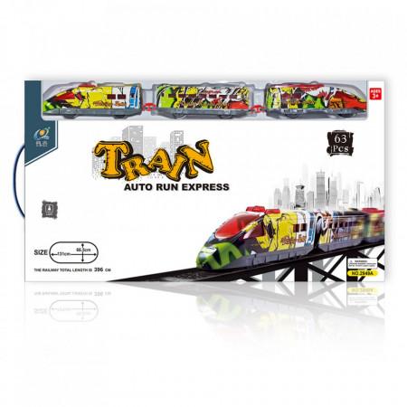 Brzi voz sa stanicom i mostom TRAIN EXPRESS