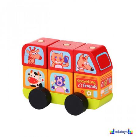 EDU Mini bus sa životinjama