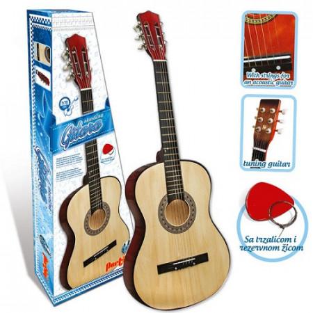 Drvena gitara 76cm