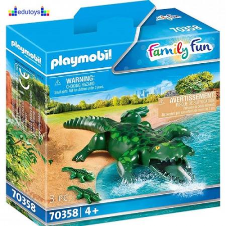 Playmobil Family Fun Porodica aligatora