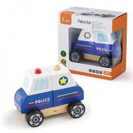 Drvena slagalica policijski automobil