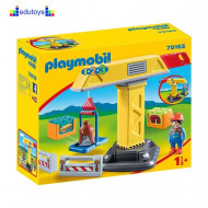 Playmobil 1.2.3 Kran