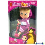 Lutka Maša na biciklu