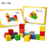 Brojalice drvene kocke sa 34 zadatka
