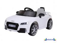 Audi beli - auto na akumulator