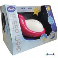 Bebi muzička noćna lampa PINK