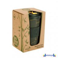 Šolja od bambusa BLACK ELEGANCE 0,5 l