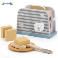 Drveni set toster PolarB
