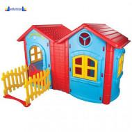 Magična kućica sa ogradicom BLUE