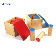Montesori Drveni zvučni blokovi 6 parova