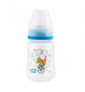 "Plastična flašica SUPER CLEAR ""CIRCUS"" 150 ml silikonska cucla"
