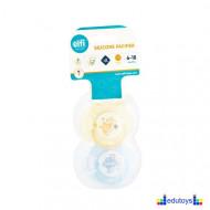 Silikonska automatska varalica SWEET BABY 2-1 žuta i plava 6-18
