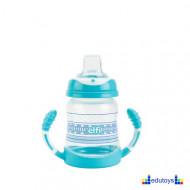 Šolja TRENDY BABY sa silikonskim piskom 275 ml plava