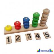 Brojevi - Nizalica od 1 do 5