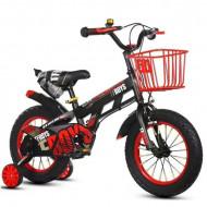 "Dečiji bicikl TFBOYS 14"" crno - crveni"