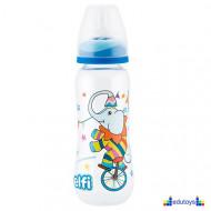 "Plastična flašica SUPER CLEAR ""CIRCUS"" (slon) 250 ml silikonska cucla"