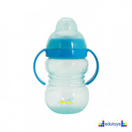 Šolja FUN IN THE PARK sa silikonskim piskom 275 ml plava