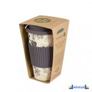Šolja od bambusa za poneti BLACK & GREY
