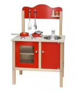 Drvena kuhinja za male kuvarice