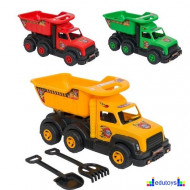 Kamion utovarivač više boja