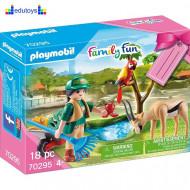Playmobil Family Fun Zoo set