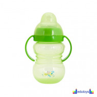 Šolja FUN IN THE PARK sa silikonskim piskom 275 ml zelena