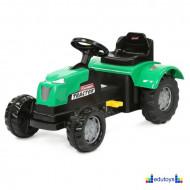 Traktor na pedale zeleni