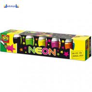 Creative Neon boje za papir 6 boja