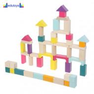 EDU Drvena igračka 50 elemenata